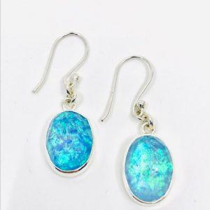 Opal Quartz Earrings