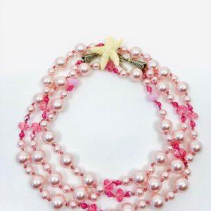 Pink Swarovski Pearls
